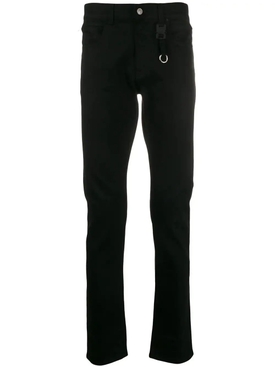 Alyx - Black Classic Jeans With Buckle - Men