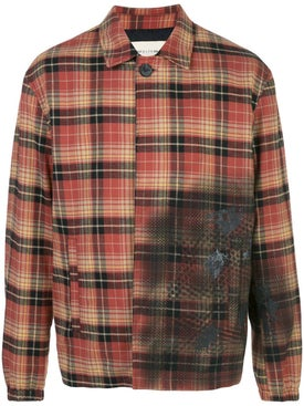 Alyx - Distressed Check Print Jacket - Men