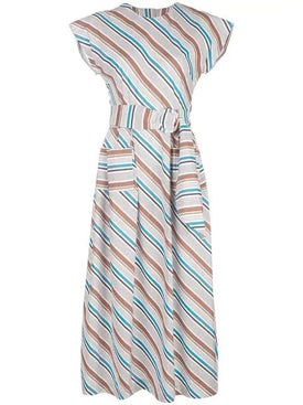 Isa Arfen - Long Striped Dress - Women