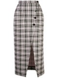Alexachung - High-waist Plaid Skirt - Women