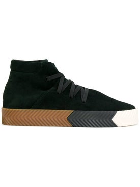 Adidas - Skate Mid-top Sneakers Black - Women