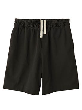 Acne Studios - Richard Drawstring Shorts Black - Men