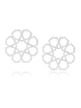 Ralph Masri - Arabesque Deco Stud Earrings - Women