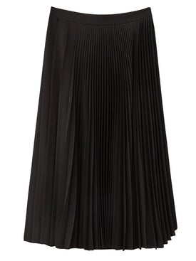 Acne Studios - Pleated Midi Skirt Black - Women