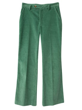 Acne Studios - Patsyne Vintage Corduroy Trousers Dusty Green - Women