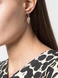 Anita Ko - 18kt Rose Gold Leaf Diamond Earrings - Fine Earrings