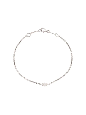 Anita Ko - 18kt White Gold Marquis Diamond Chain Bracelet - Women