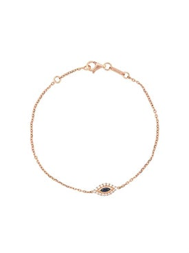 Anita Ko - 18kt Rose Gold Evil Eye Diamond Bracelet - Women