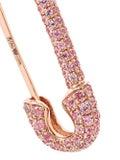 Anita Ko - Pink Sapphire Safety Pin Earring - Women