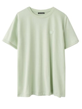 Acne Studios - Ellison Face T-shirt Green - T-shirts