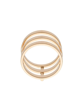 Yellow gold Berbere module ring