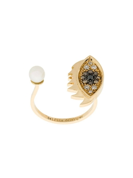 Delfina Delettrez - Eyes On Me Pavé Diamond Ring - Women