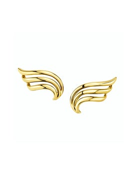 Anita Ko - Gold Wave Earrings - Fine Earrings