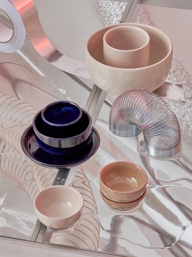 GIRO Ceramics Assiete A Dessert BLUE