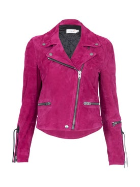 Coach - Coach X Viper Room Suede Moto Jacket - Women