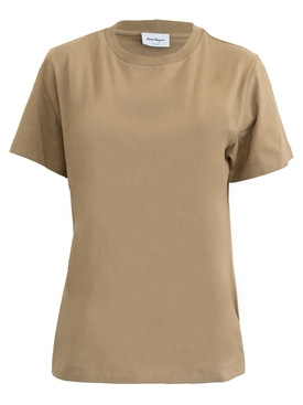 Salvatore Ferragamo - Simple T-shirt Neutral - Women