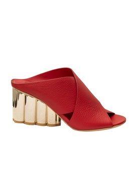 Salvatore Ferragamo - Lassa Mule Sandal - High Sandals