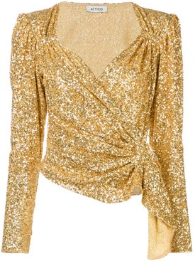 Attico - Sequinned Top - Women