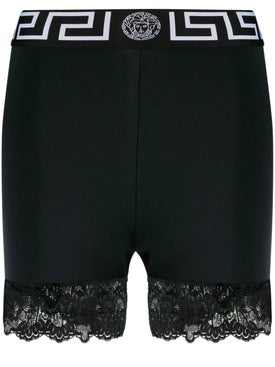 Versace - Lace Trim Shorts - Shorts