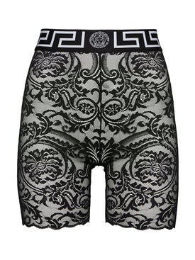 Versace - Lace Bike Shorts - Women