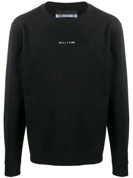 LOGO CREWNECK SWEATSHIRT BLACK