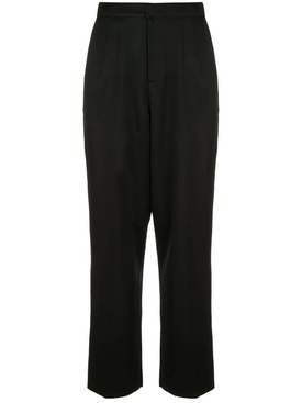Over-sized tailored pants BLACK