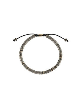 M. Cohen - Gold-plated Tie Beaded Bracelet - Men