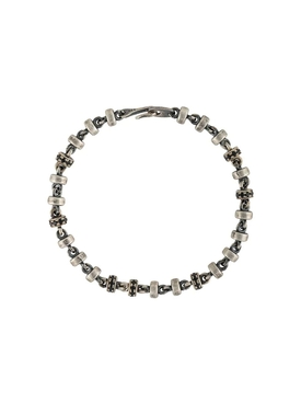 M. Cohen - Silver And Black Omni Bracelet - Men