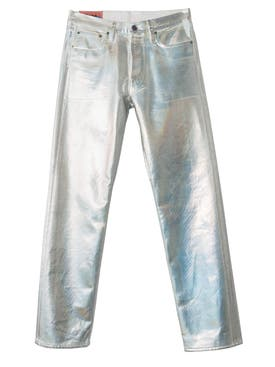 Acne Studios - 1996 Holographic Foil Classic Fit Jeans - Men