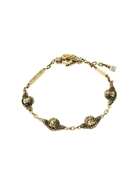Martyre - 14kt Yellow Gold Cherub Angel Bracelet - Men