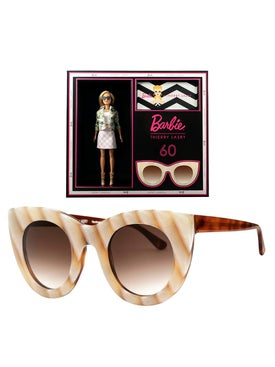 Thierry Lasry - Thierry Lasry X Barbie Neutral Cat Eye Sunglasses - Women