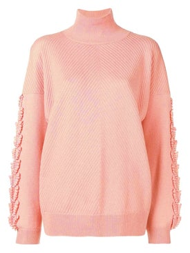 Barrie - Oversized Turtleneck Pullover - Women