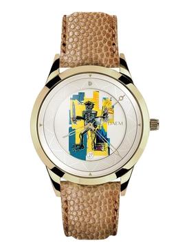 x Jean-Michel Basquiat WARRIOR watch