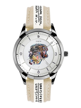 x Jean-Michel Basquiat SKULL watch