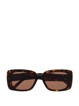 Tortoiseshell Square Sunglasses Brown