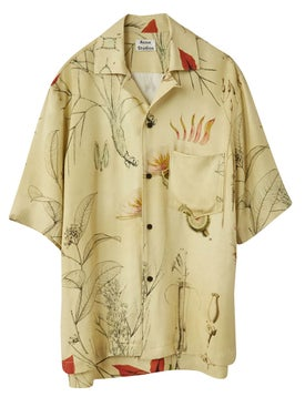 Acne Studios - Botanical Print Shirt - Short Sleeves