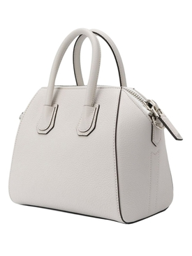 White leather Antigona bag