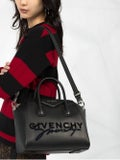 Givenchy - Black Double Signature Antigona Tote Bag - Women