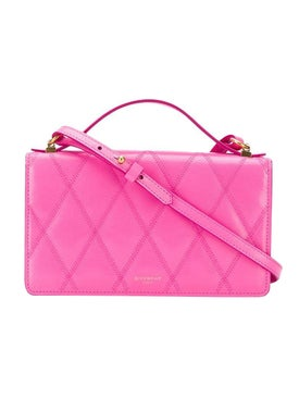 Givenchy - Quilted Cross-body Bag Sorbet Pink - Women
