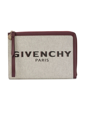 Givenchy - Large Bond Logo Clutch - Women
