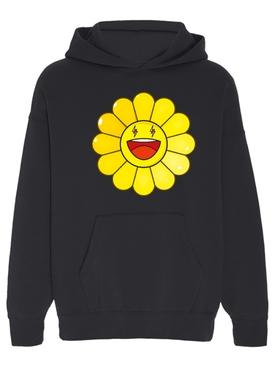 Amarillo Large Flower Hoodie