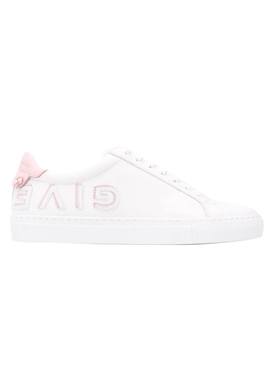 Pink Reverse Low Top Sneakers