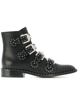 Givenchy - Studded Buckled Boots - Women