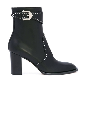 STUDDED ANKLE BOOT BLACK