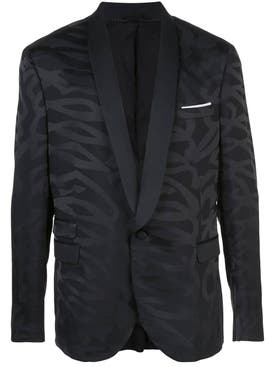 Neil Barrett - Black Tonal Print Jacket - Men