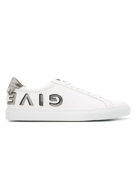 upside-down logo URBAN STREET SNEAKER WHITE