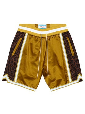 Just Don - Jungle Satin Baskball Short - Men