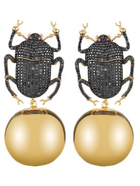Begum Khan - Pharaoh Party Earring - Women