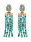 Begum Khan - Lady Bug Capri Earrings - Women