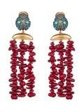 Begum Khan - Lady Bug Corsica Earrings - Women